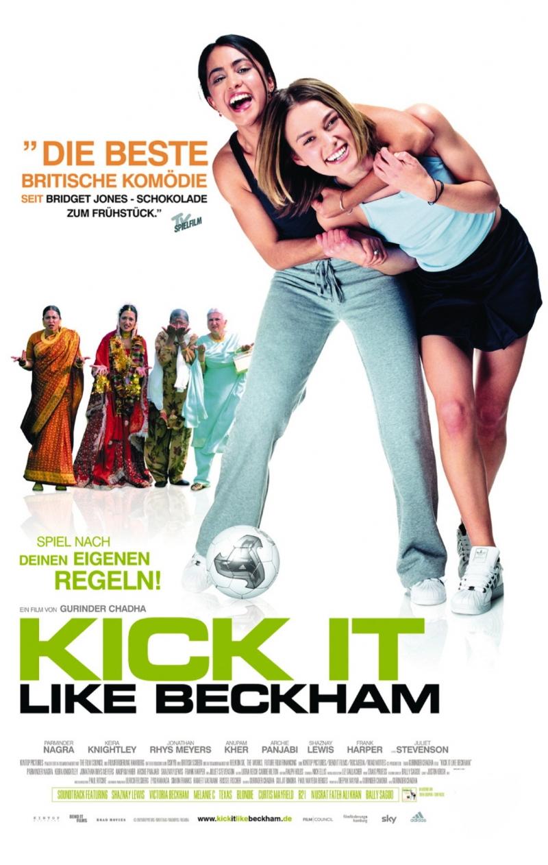 плакат фильма постер Играй, как Бэкхем