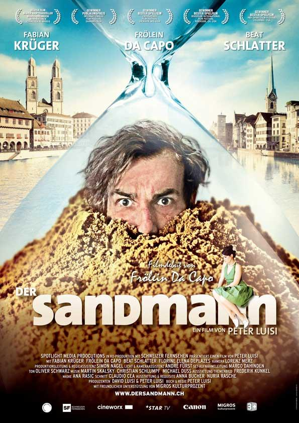 плакат фильма постер Песочный человек