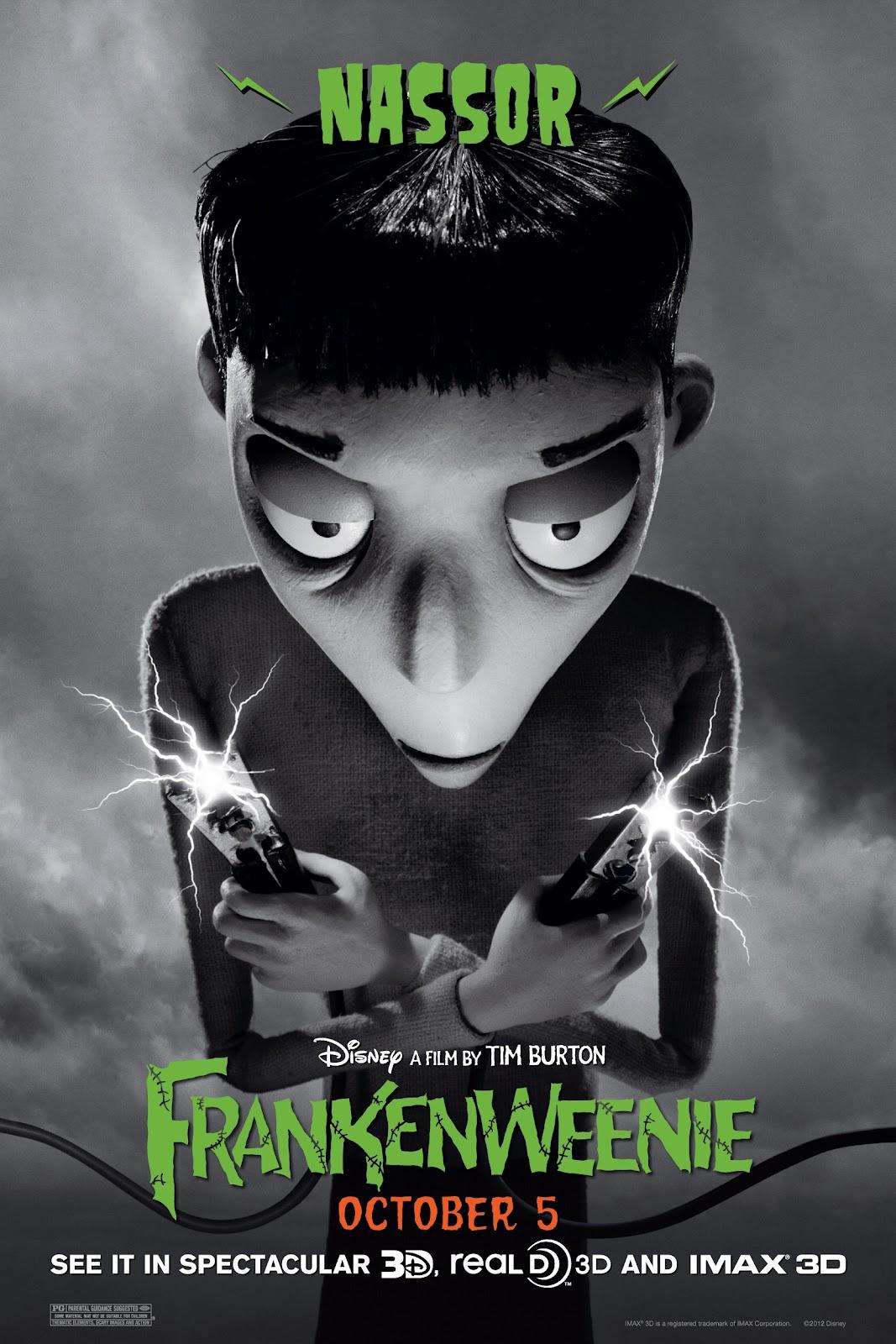плакат фильма характер-постер Франкенвини