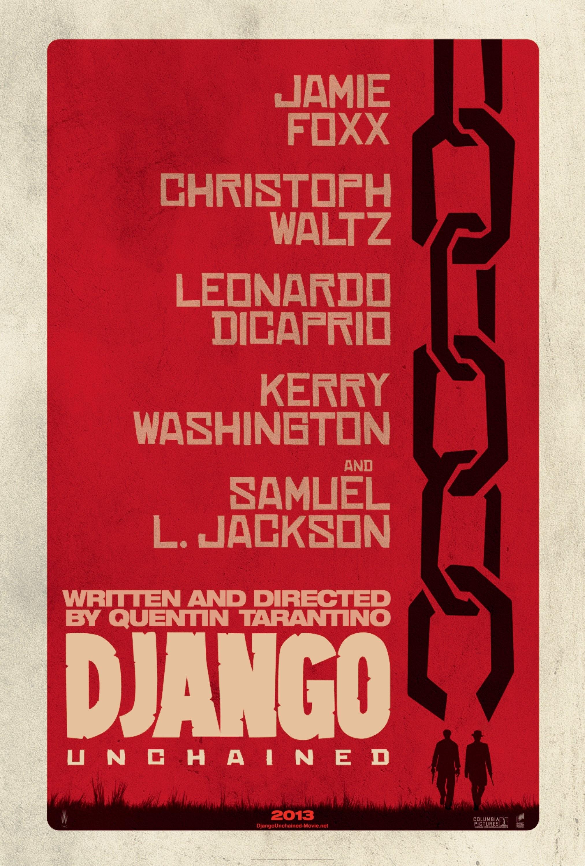плакат фильма постер Джанго освобожденный