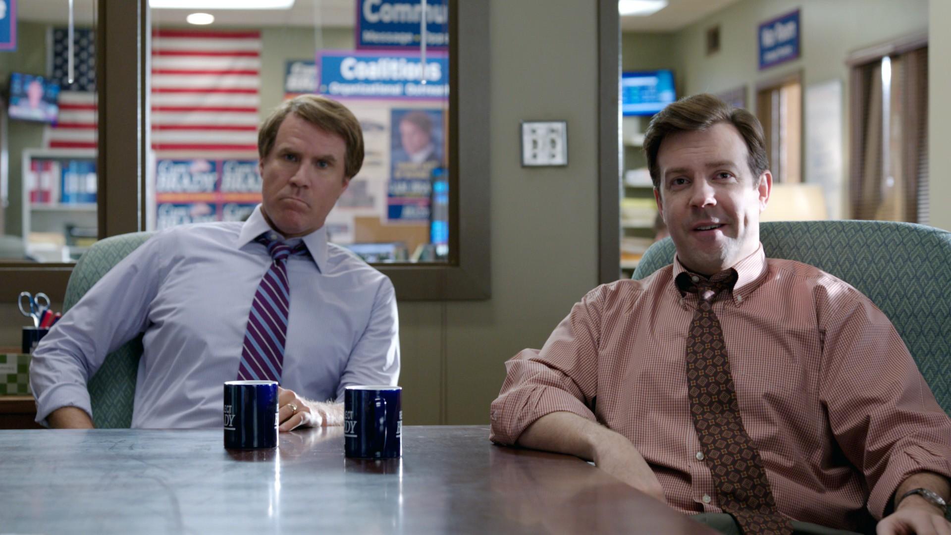 кадры из фильма Грязная кампания за честные выборы Уилл Феррелл, Джейсон Судейкис,