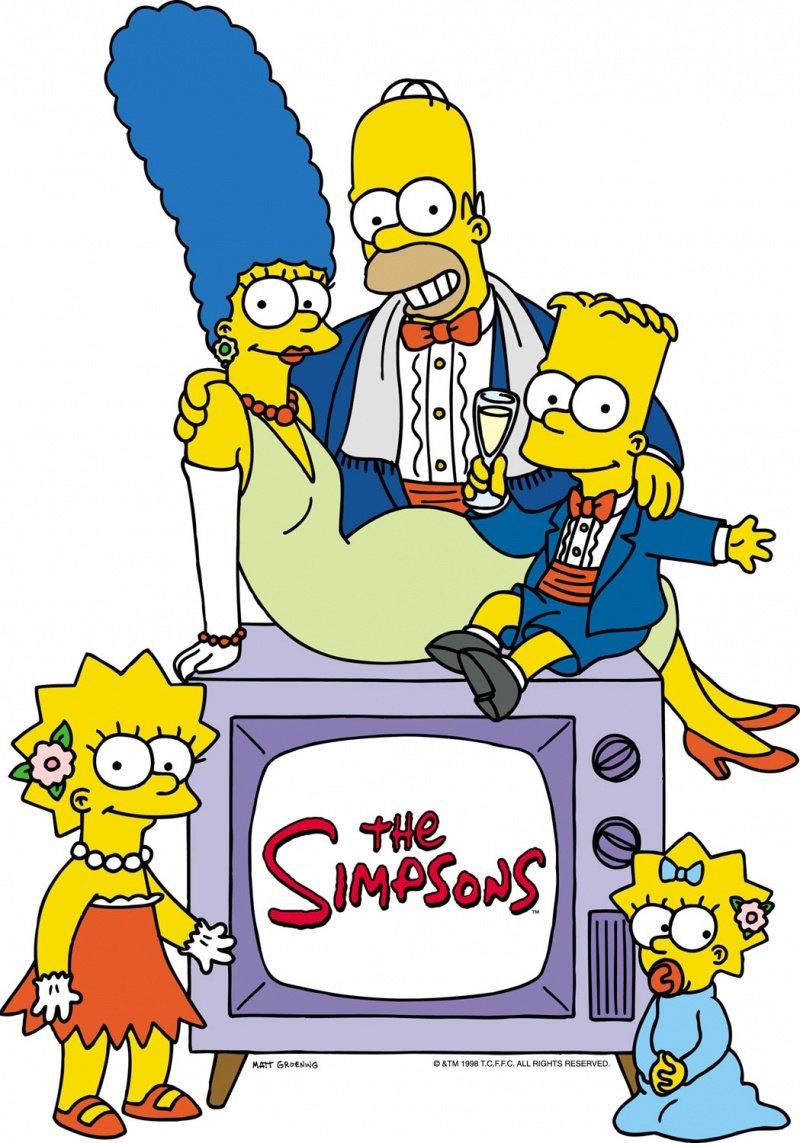 плакат фильма постер Симпсоны