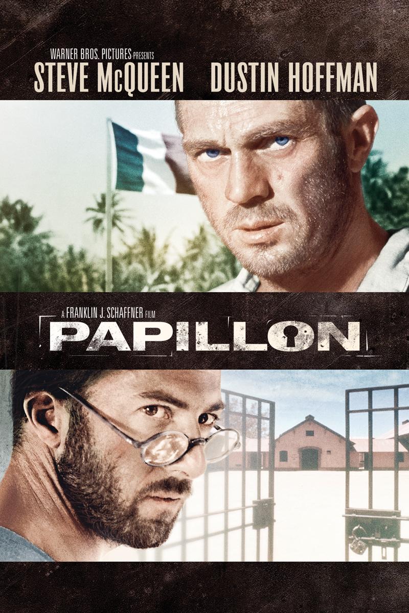 плакат фильма постер DVD Мотылек