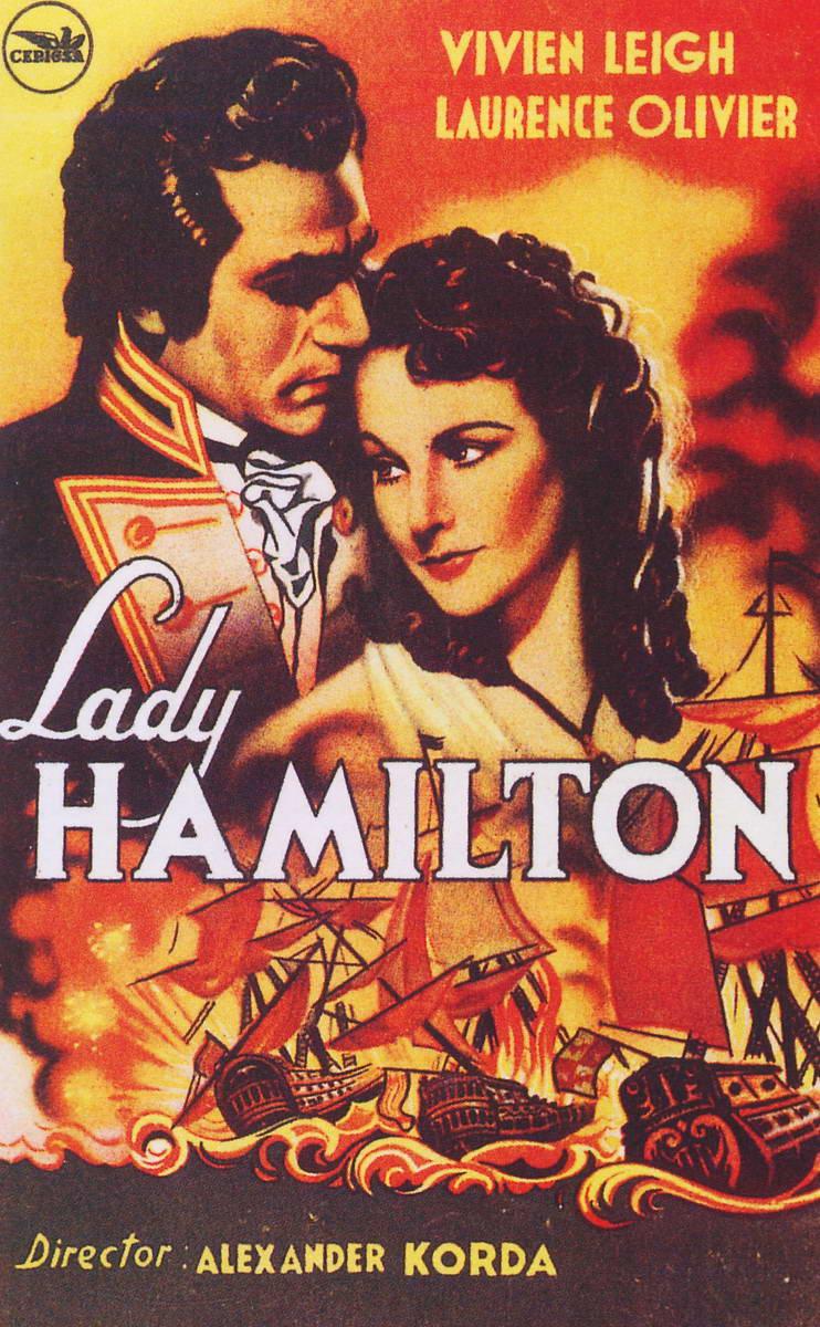 плакат фильма постер Леди Гамильтон