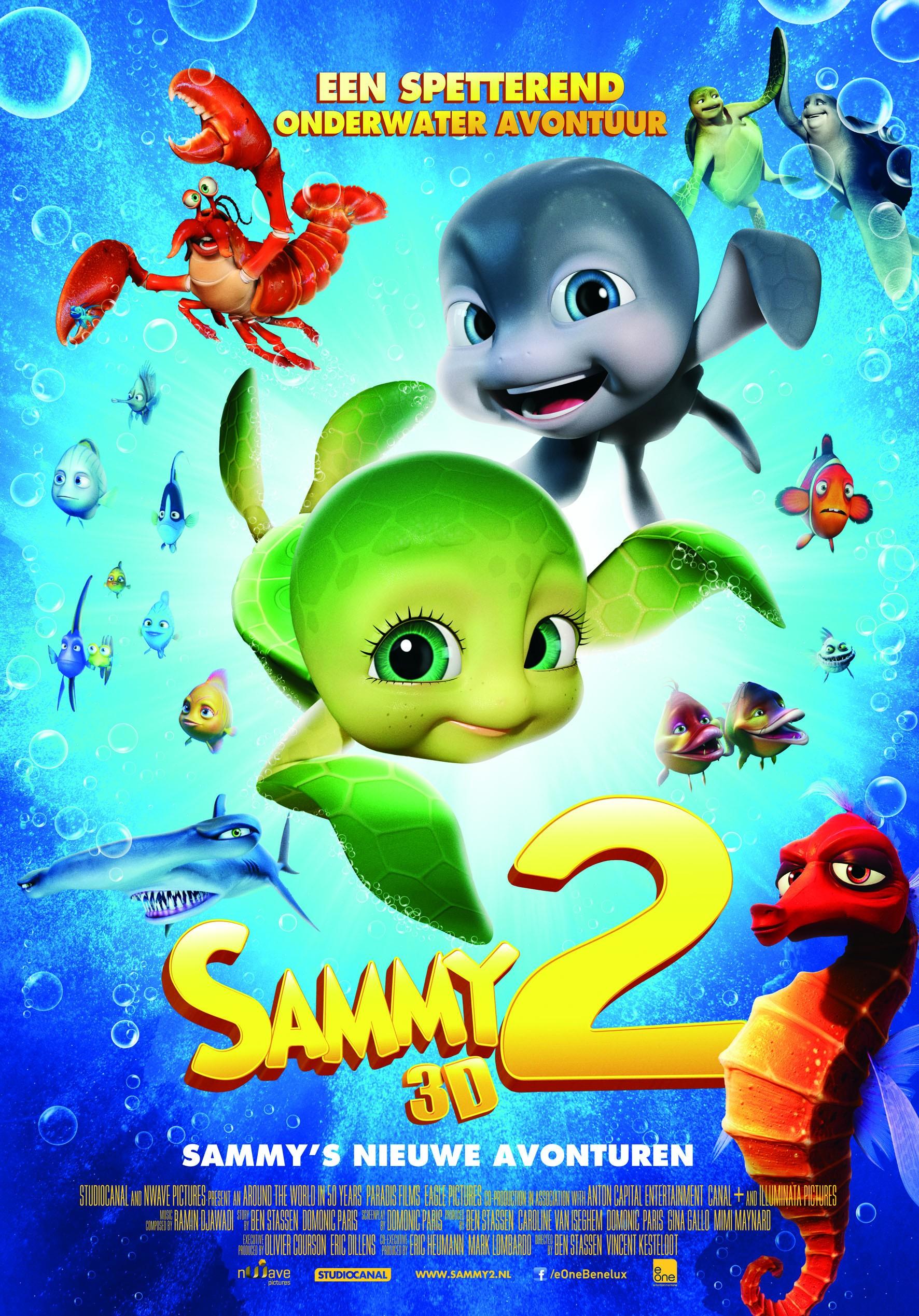 плакат фильма постер Шевели ластами 2