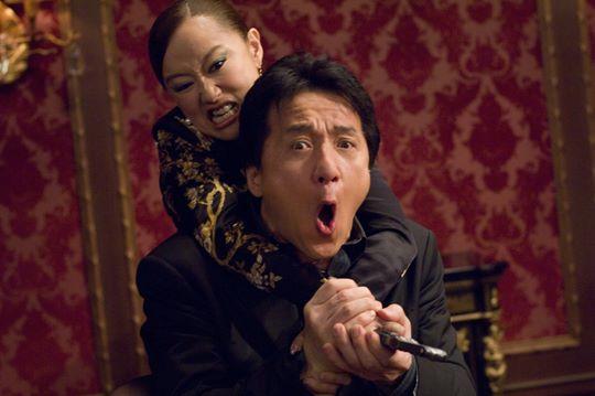 кадры из фильма Час пик 3 Юки Кудо, Джеки Чан,