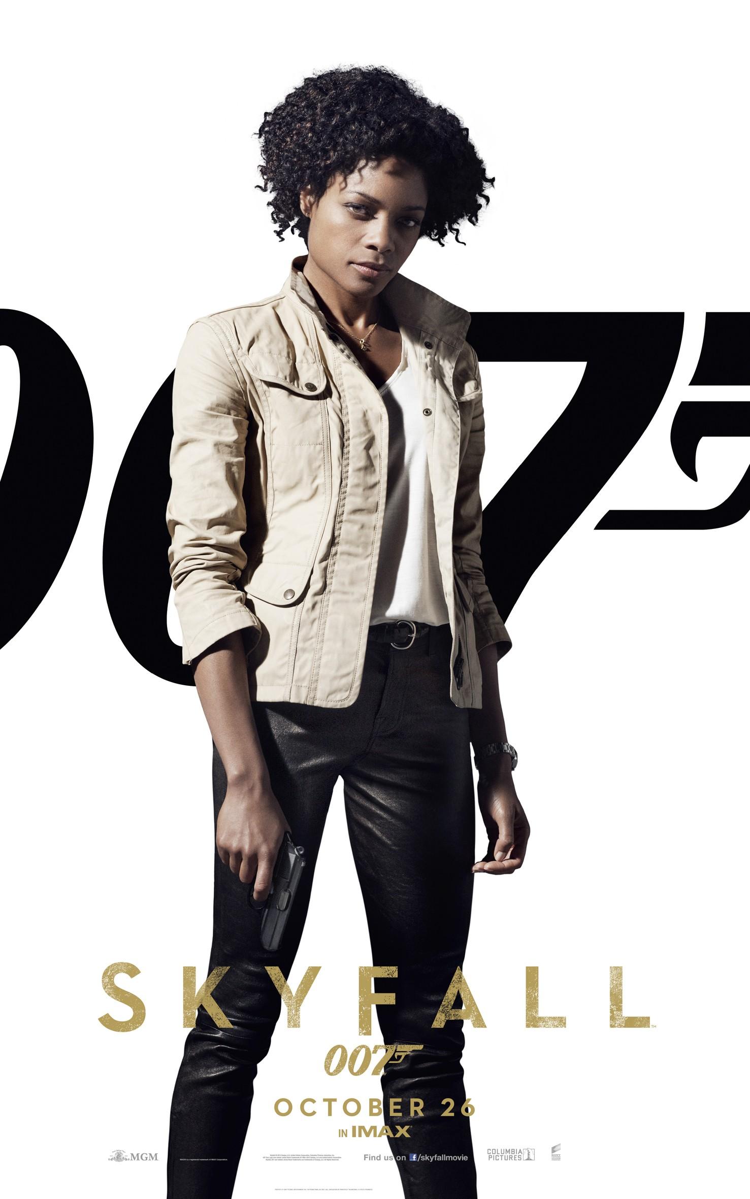 плакат фильма характер-постер 007 Координаты Скайфолл