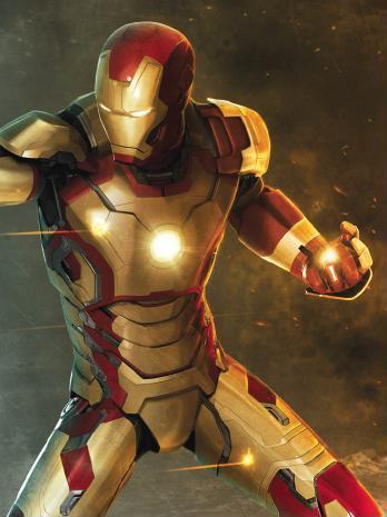 концепт-арты Железный человек 3
