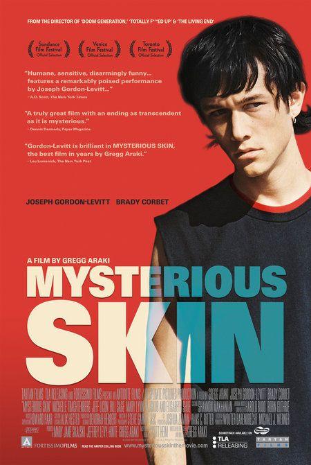 плакат фильма Загадочная кожа