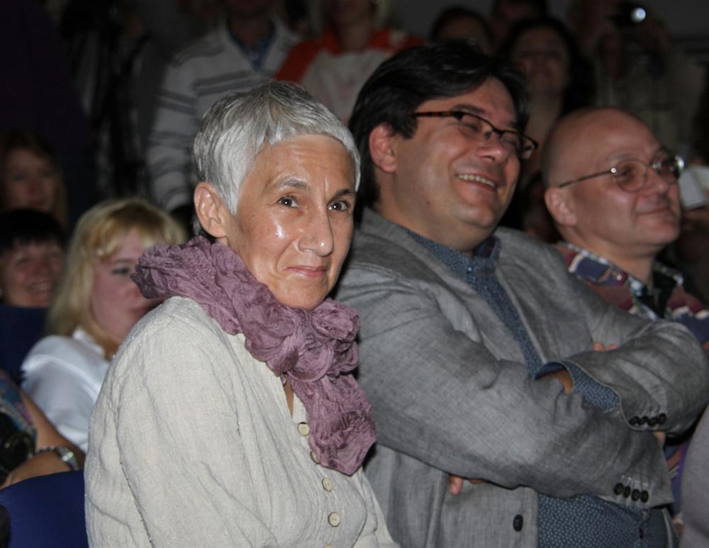 церемония открытия XX фестиваль «Окно в Европу» Андрей Прошкин, Роза Хайруллина,