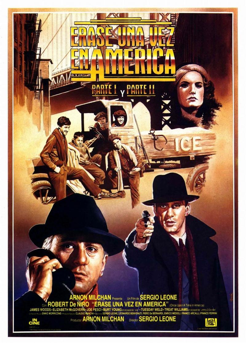 плакат фильма постер Однажды в Америке