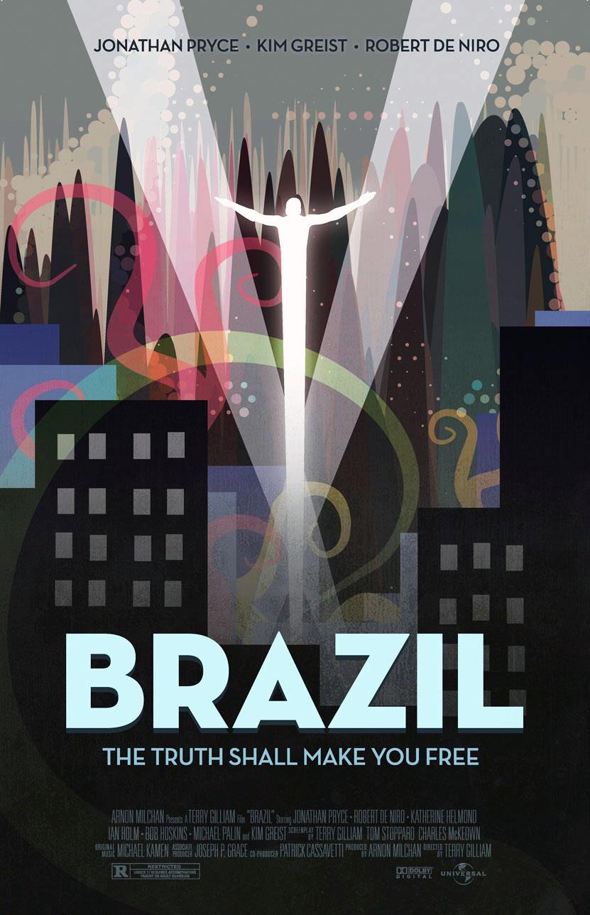 плакат фильма постер Бразилия