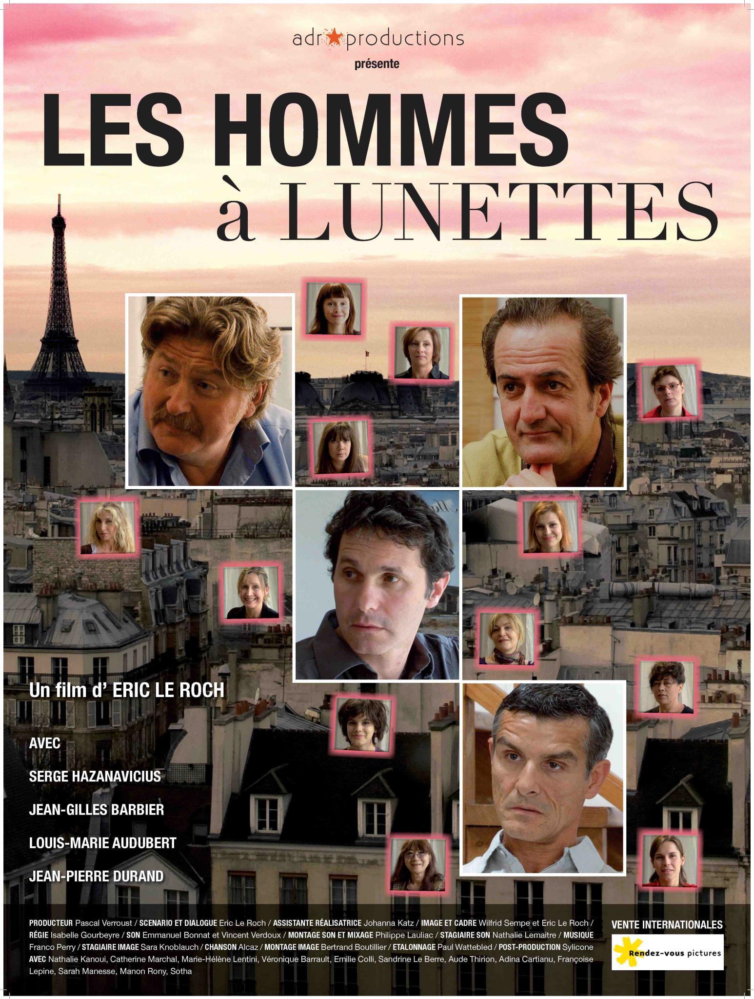 плакат фильма постер О чем говорят французские мужчины