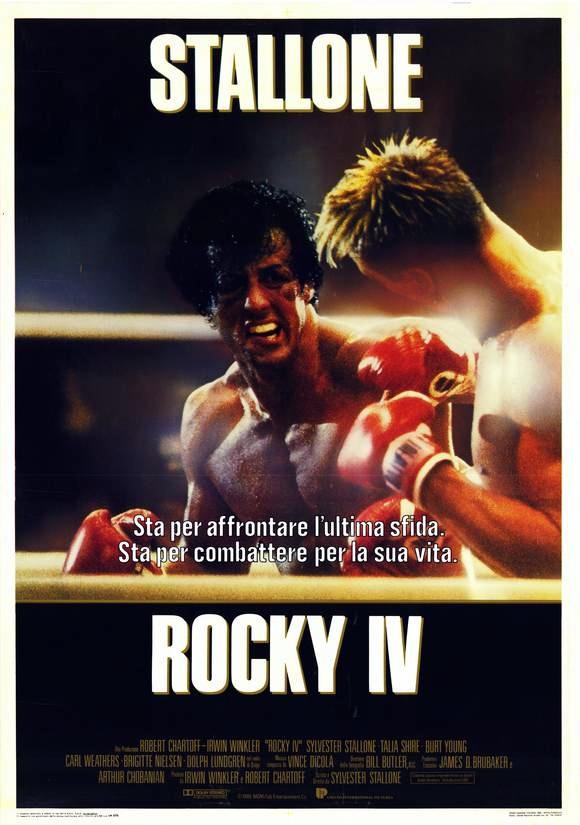 плакат фильма Рокки IV