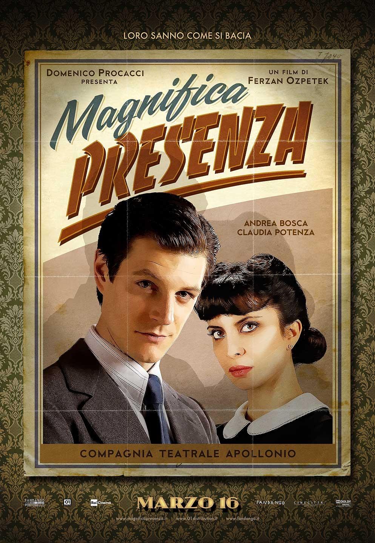 плакат фильма характер-постер Присутствие великолепия