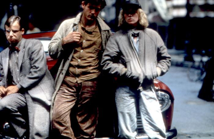 кадры из фильма Улицы в огне Эми Мэдиган, Рик Моранис, Майкл Паре,