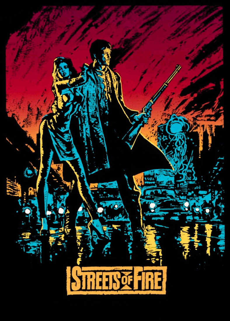 плакат фильма постер Улицы в огне