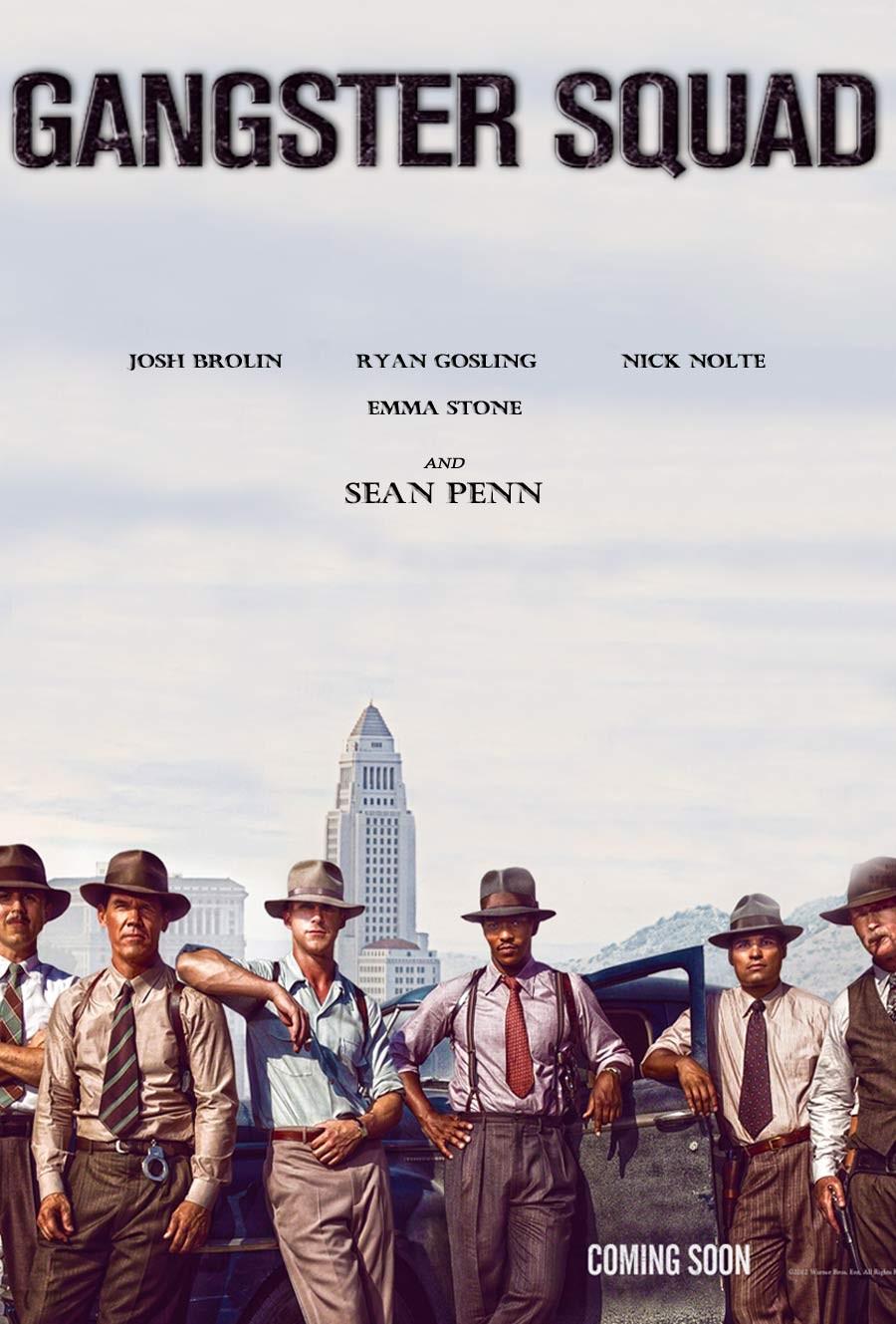 плакат фильма тизер постер Охотники на гангстеров