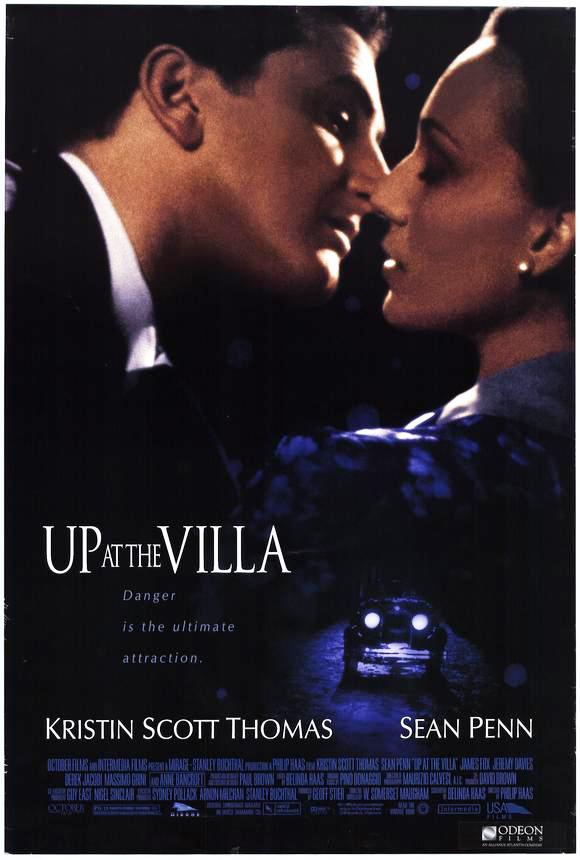 плакат фильма постер На вилле