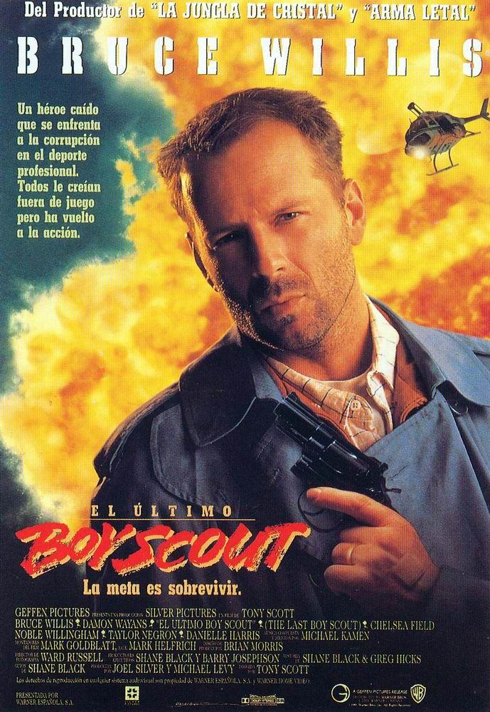 плакат фильма Последний бойскаут