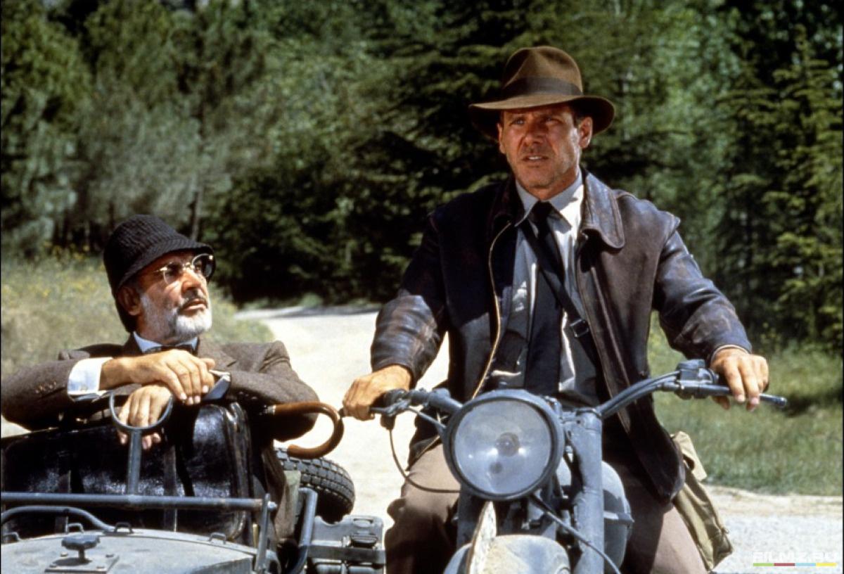 кадры из фильма Индиана Джонс и Последний крестовый поход Харрисон Форд, Шон Коннери,