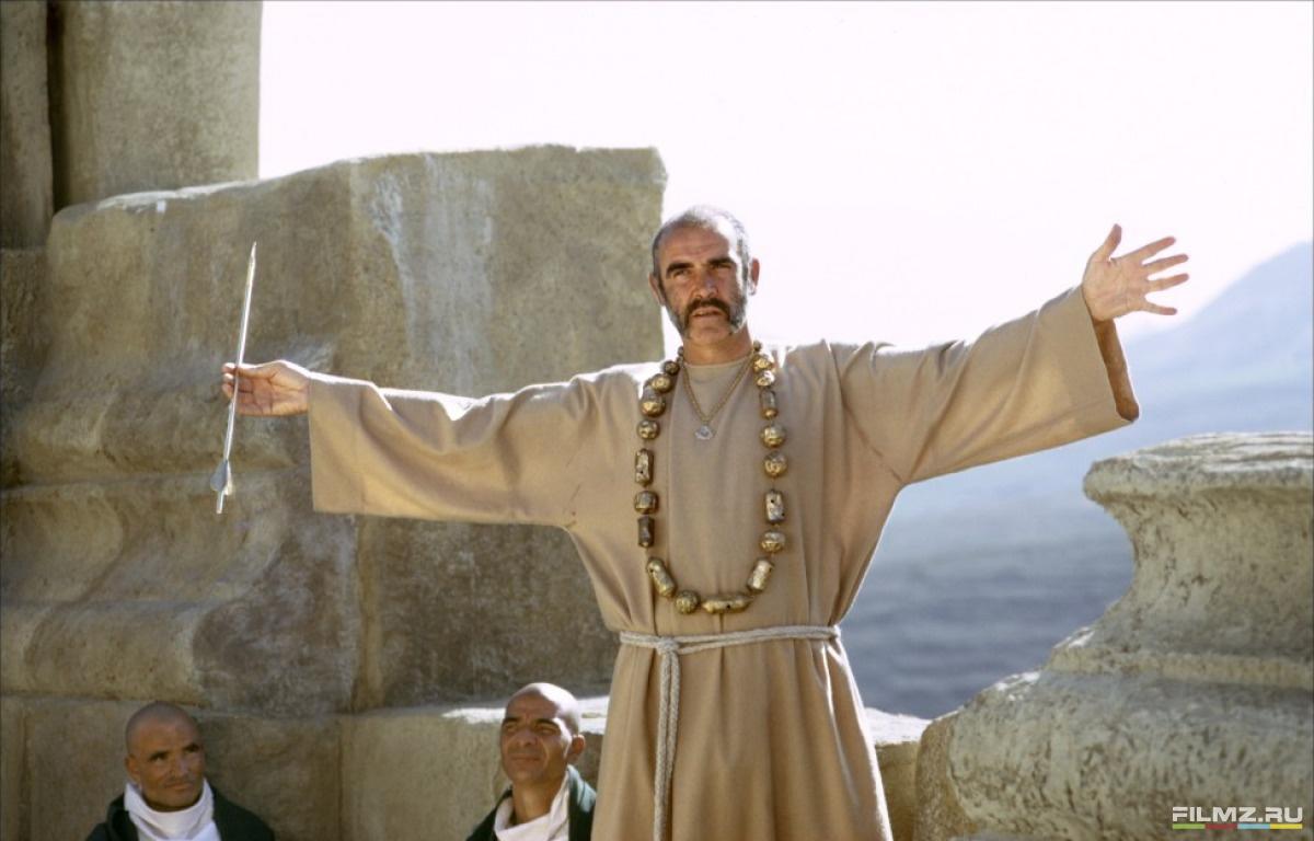 кадры из фильма Человек, который хотел быть королем Шон Коннери,