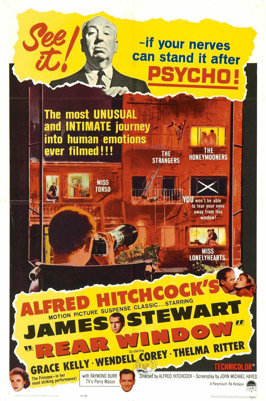 плакат фильма постер Окно во двор