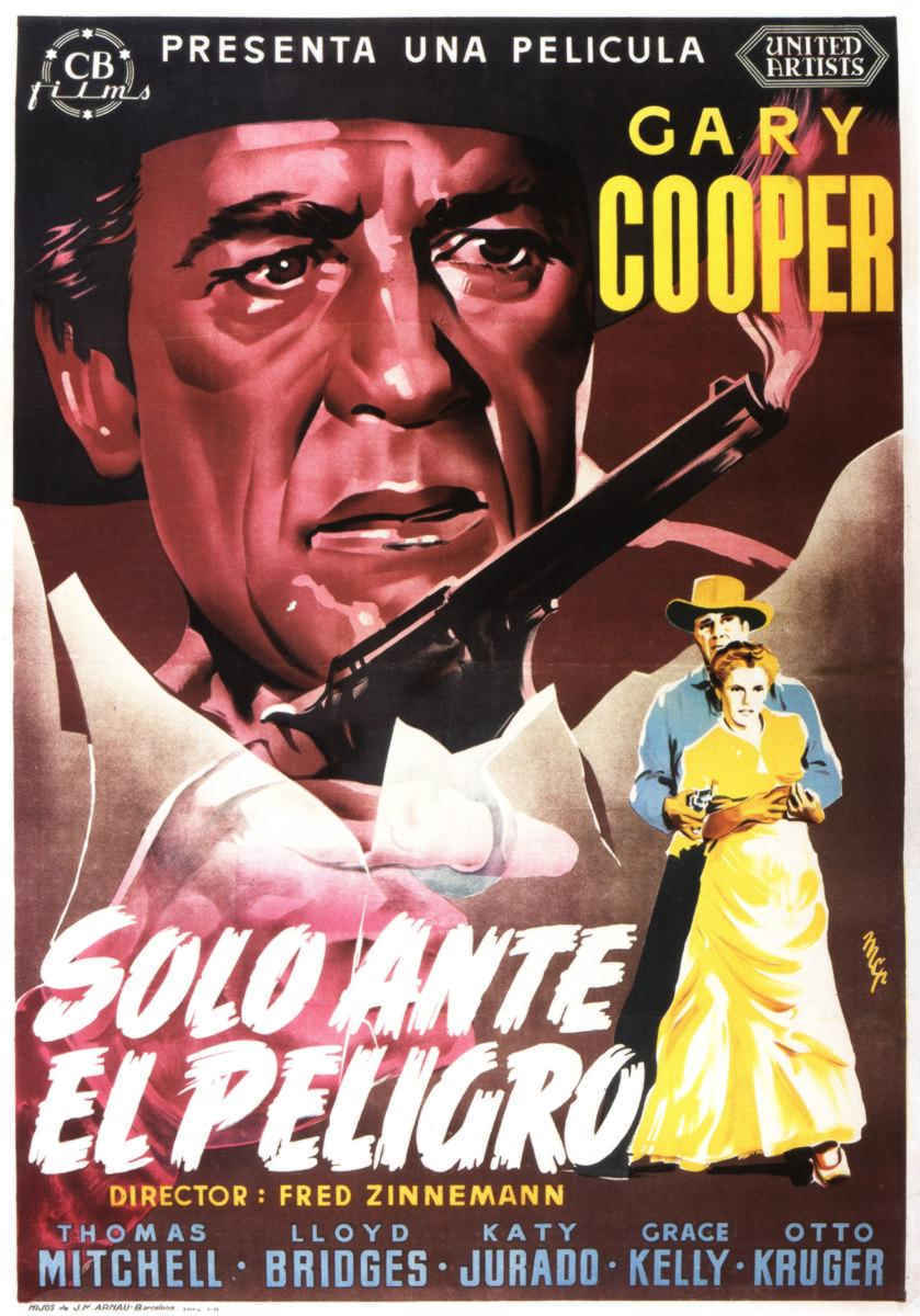 плакат фильма постер Ровно в полдень