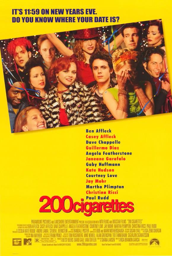 плакат фильма постер 200 сигарет
