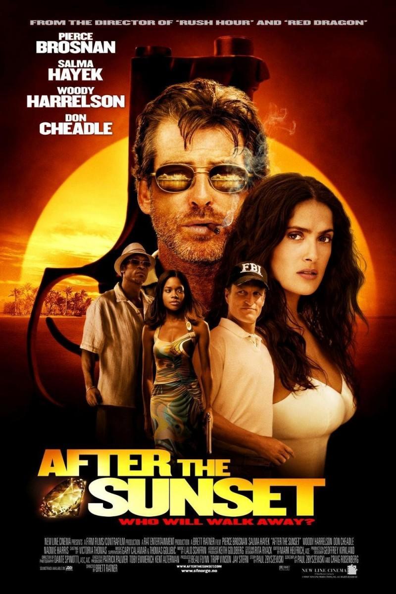 плакат фильма постер После заката