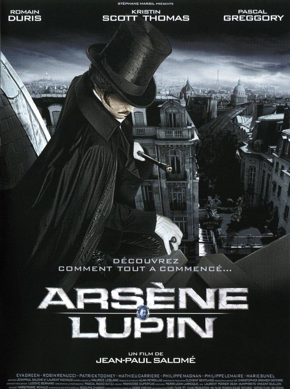 плакат фильма постер Арсен Люпен: авантюрист и любовник