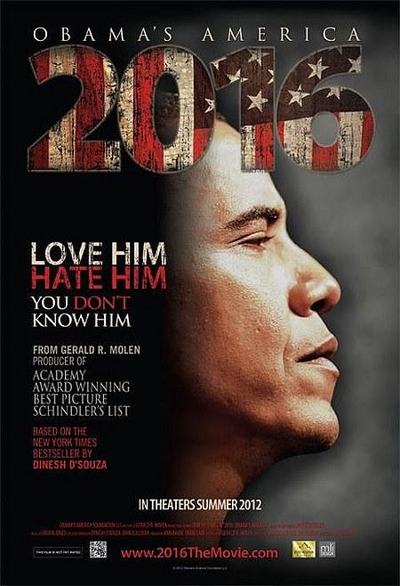 плакат фильма постер 2016: Америка Обамы*