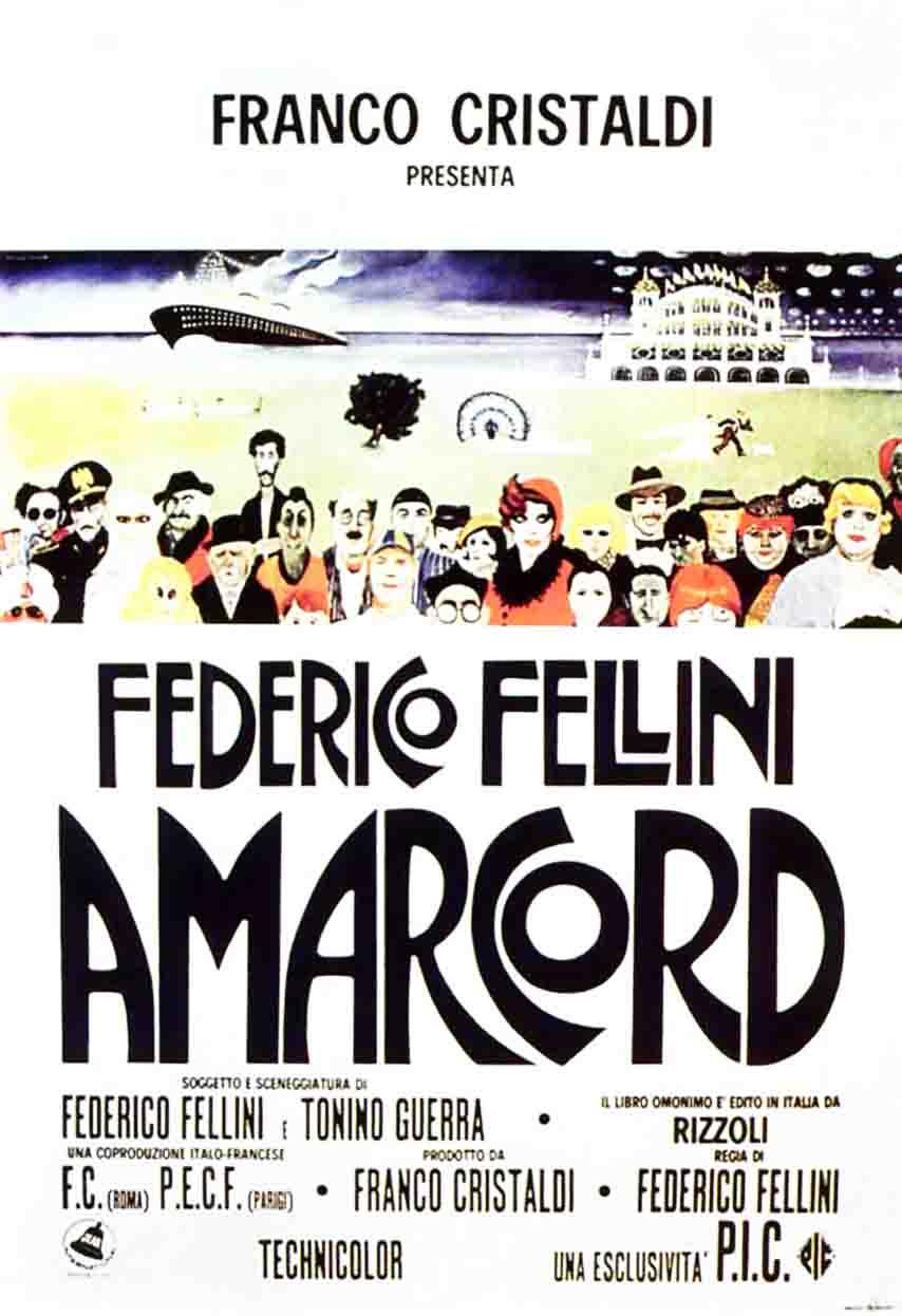 плакат фильма Амаркорд