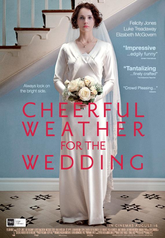 плакат фильма постер Хорошая погода для свадьбы*