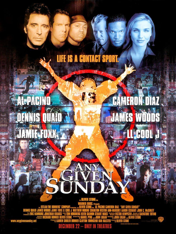 плакат фильма постер Каждое воскресенье