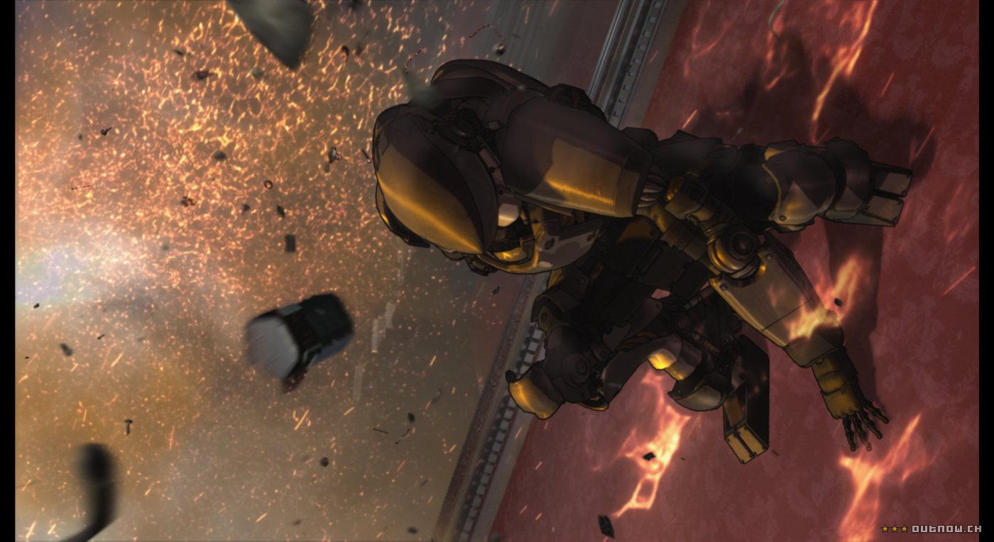 кадры из фильма Агент Вексилл