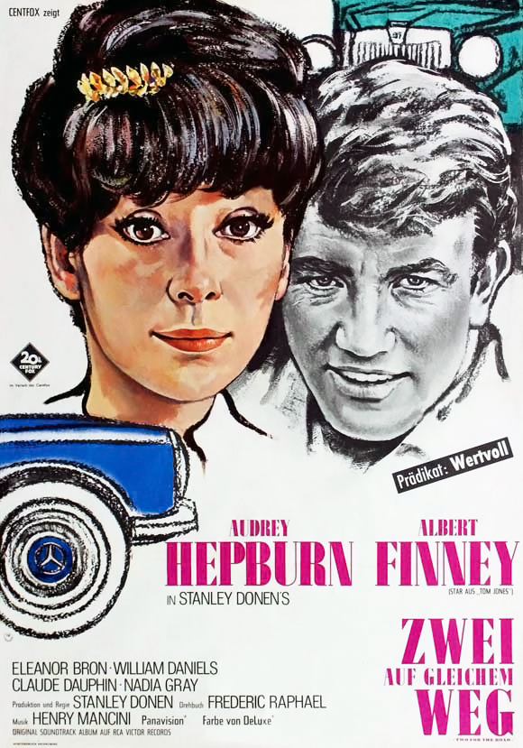 плакат фильма постер Двое на дороге
