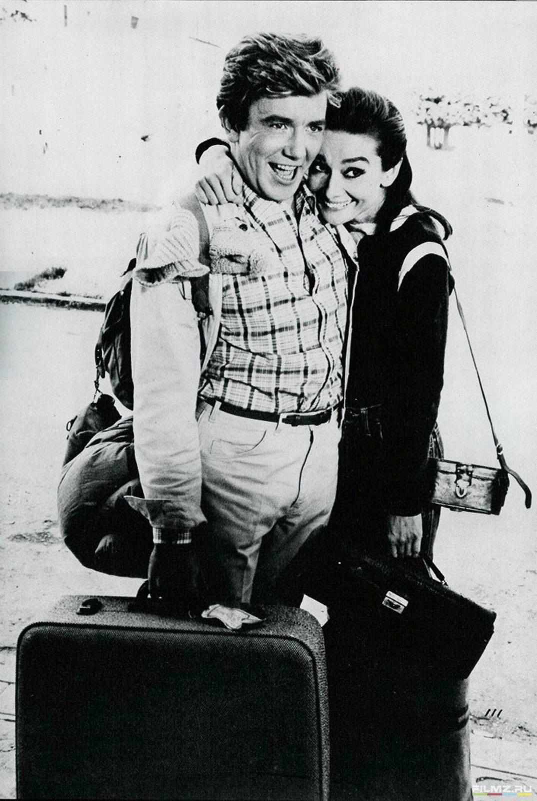 кадры из фильма Двое на дороге Альберт Финни, Одри Хепберн,