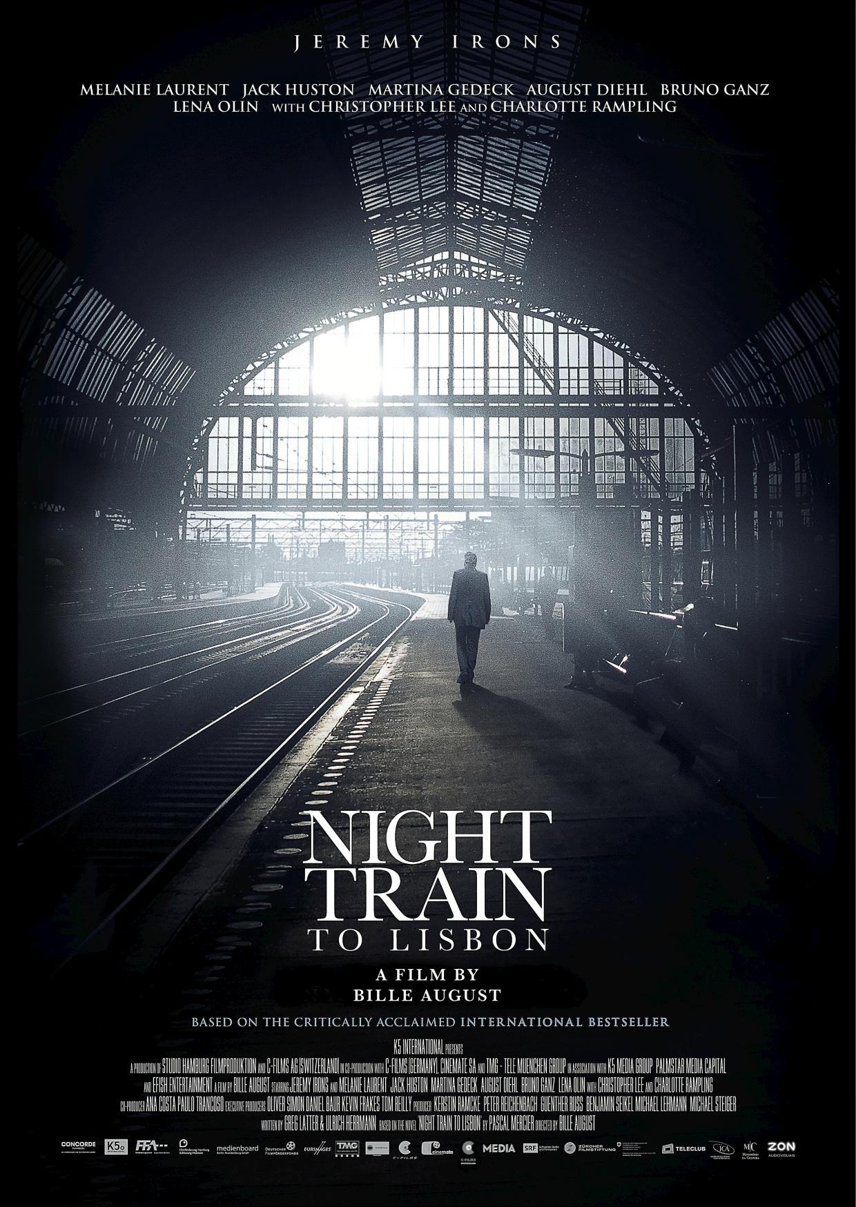 плакат фильма тизер Ночной поезд до Лиссабона*