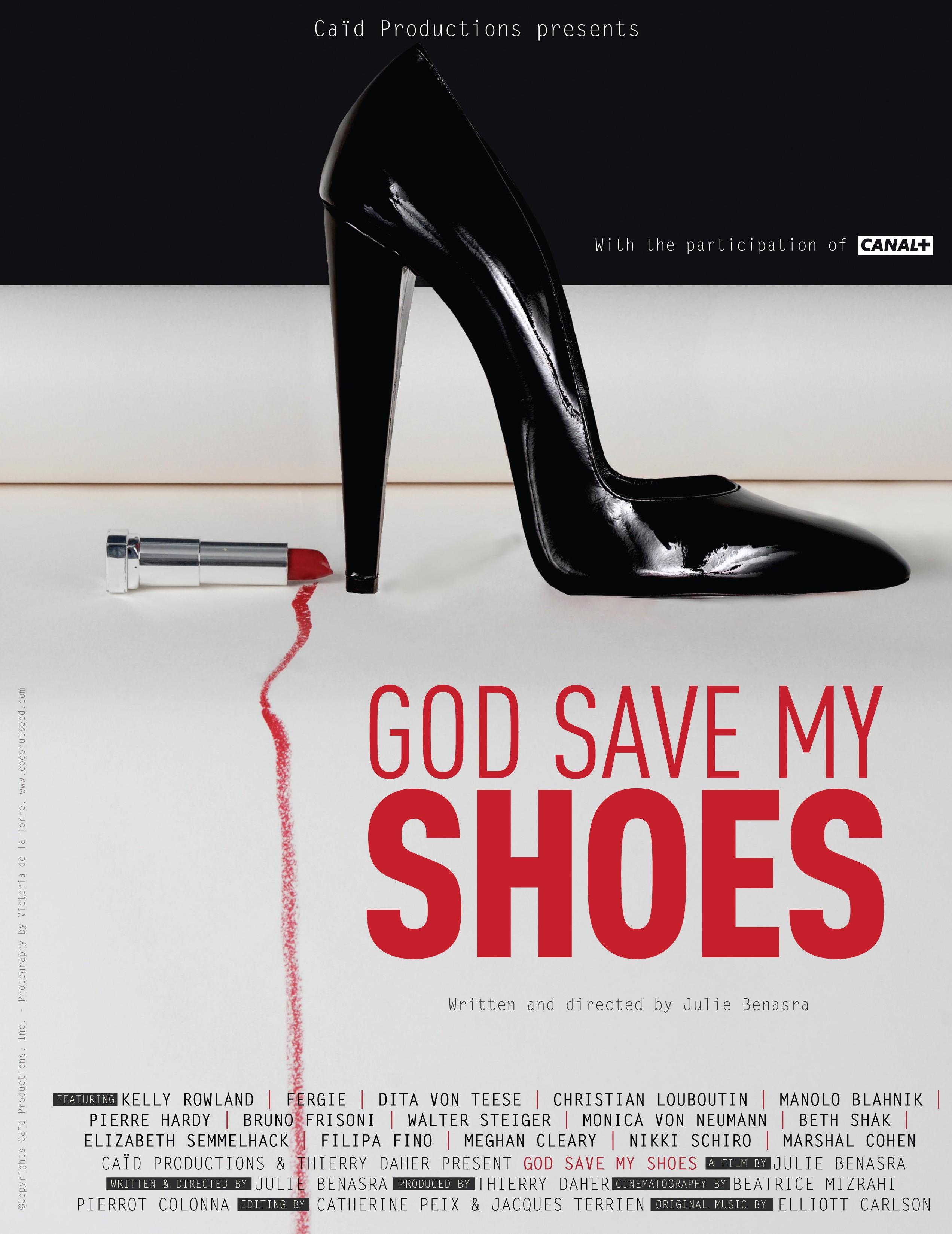 плакат фильма постер Боже, храни мой каблук
