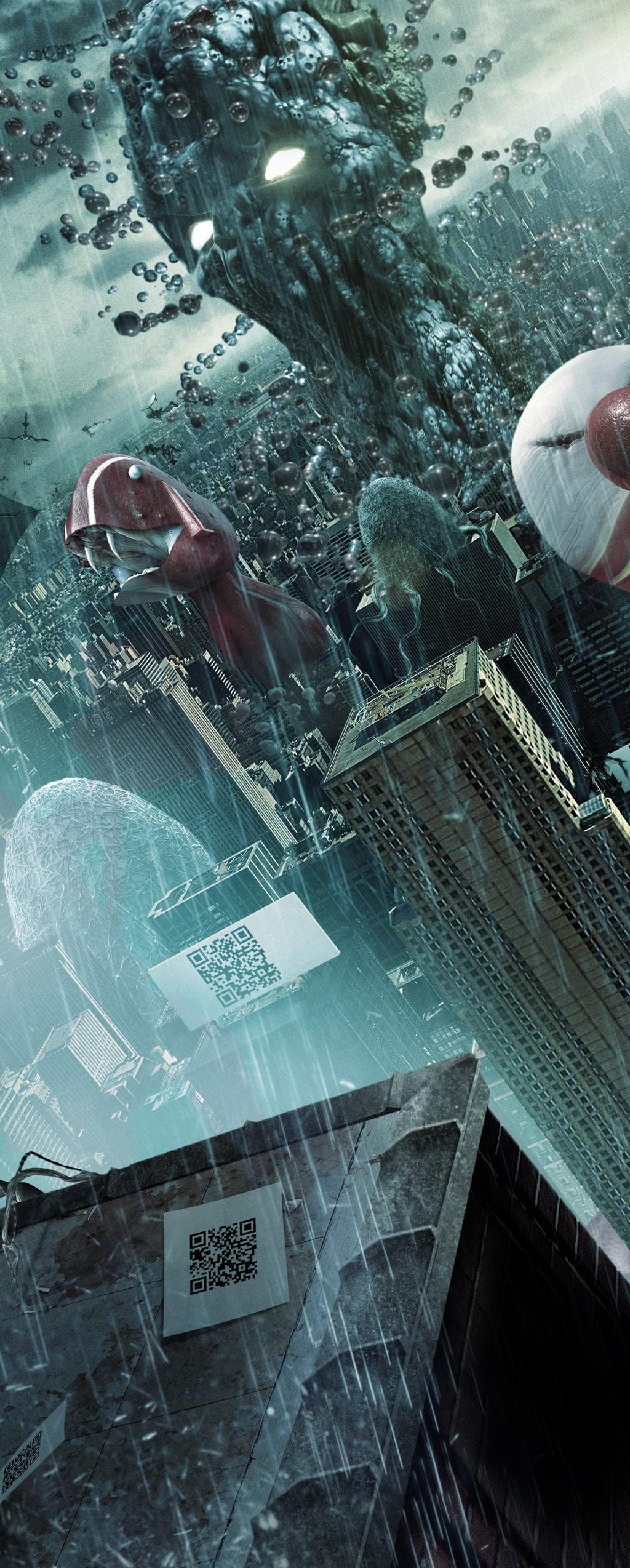 плакат фильма постер textless Москва 2017