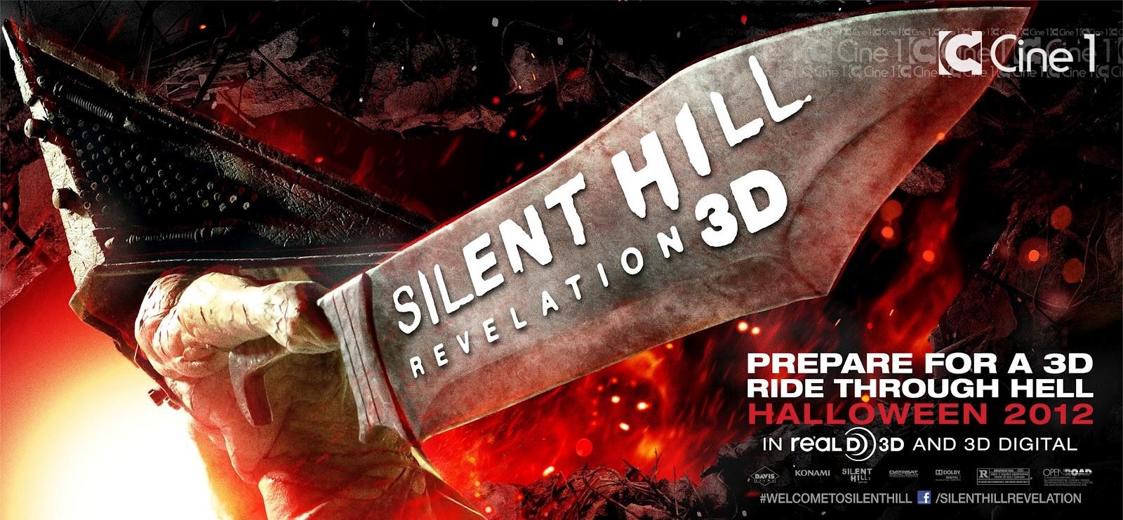 плакат фильма баннер Сайлент Хилл 2 3D