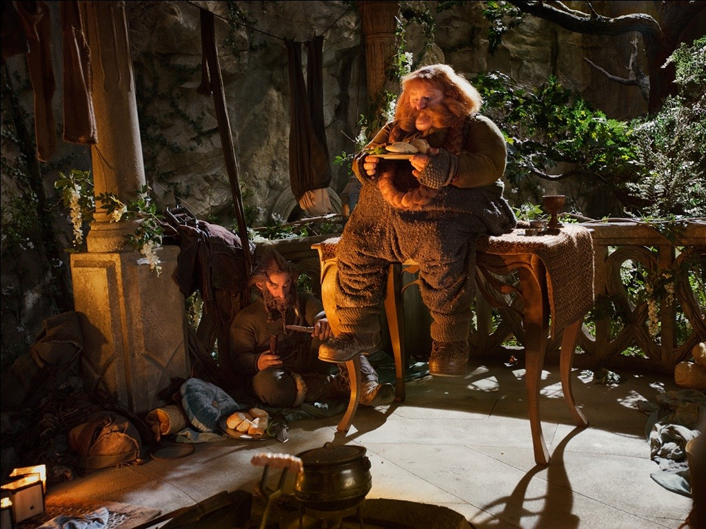 кадры из фильма Хоббит: Нежданное путешествие Стивен Хантер,