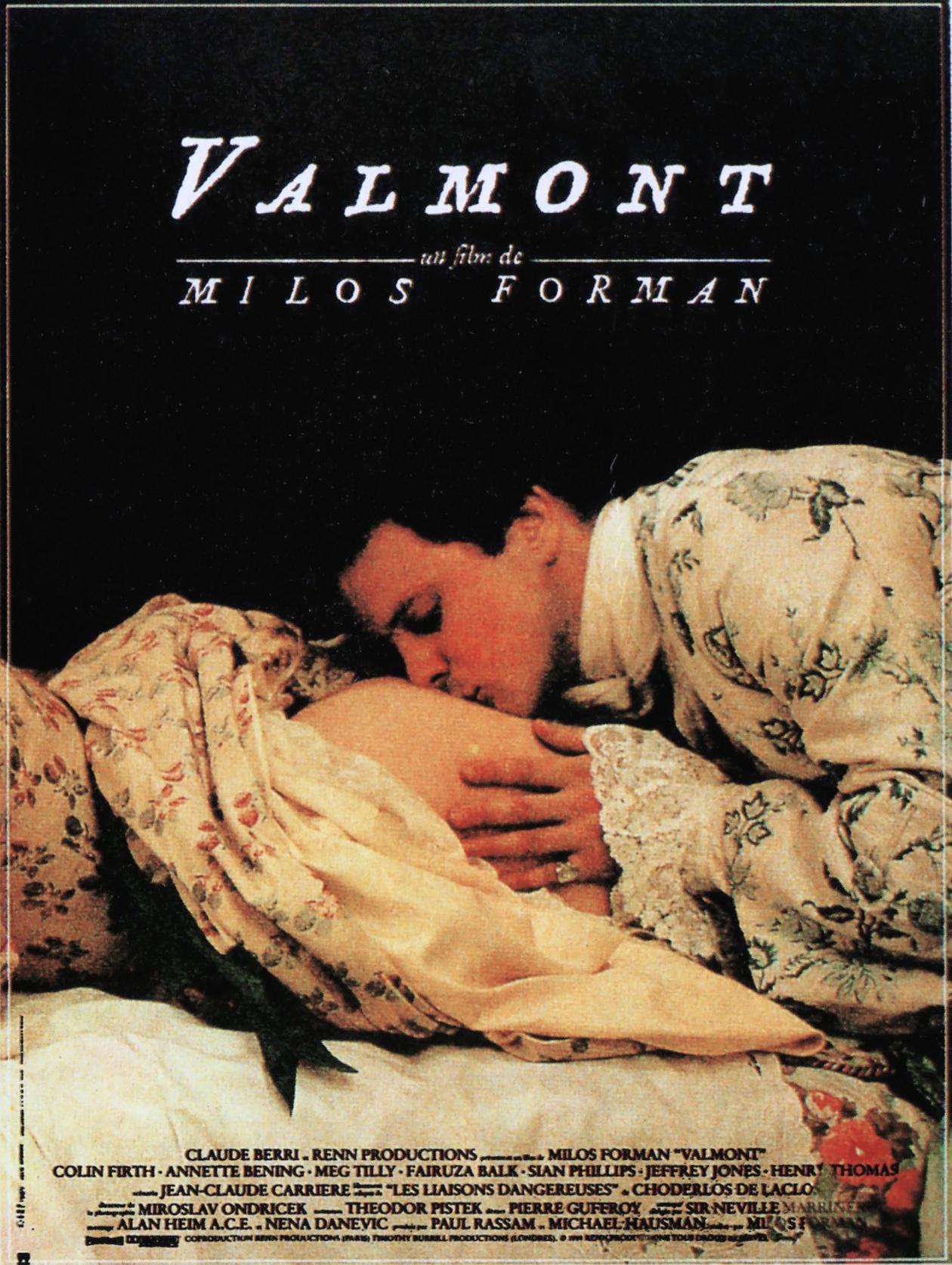 плакат фильма постер Вальмон
