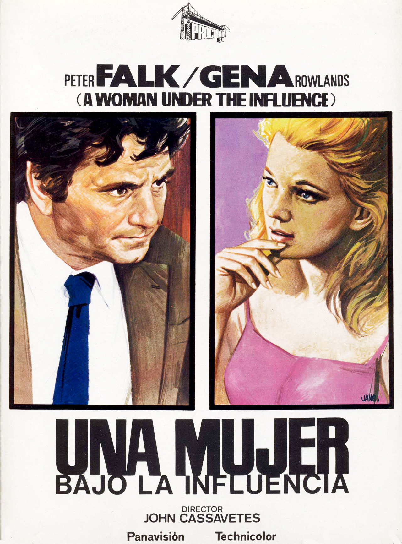 плакат фильма постер Женщина под влиянием