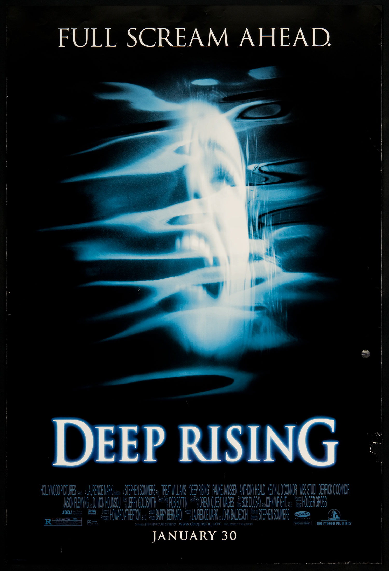 плакат фильма постер Подъем с глубины
