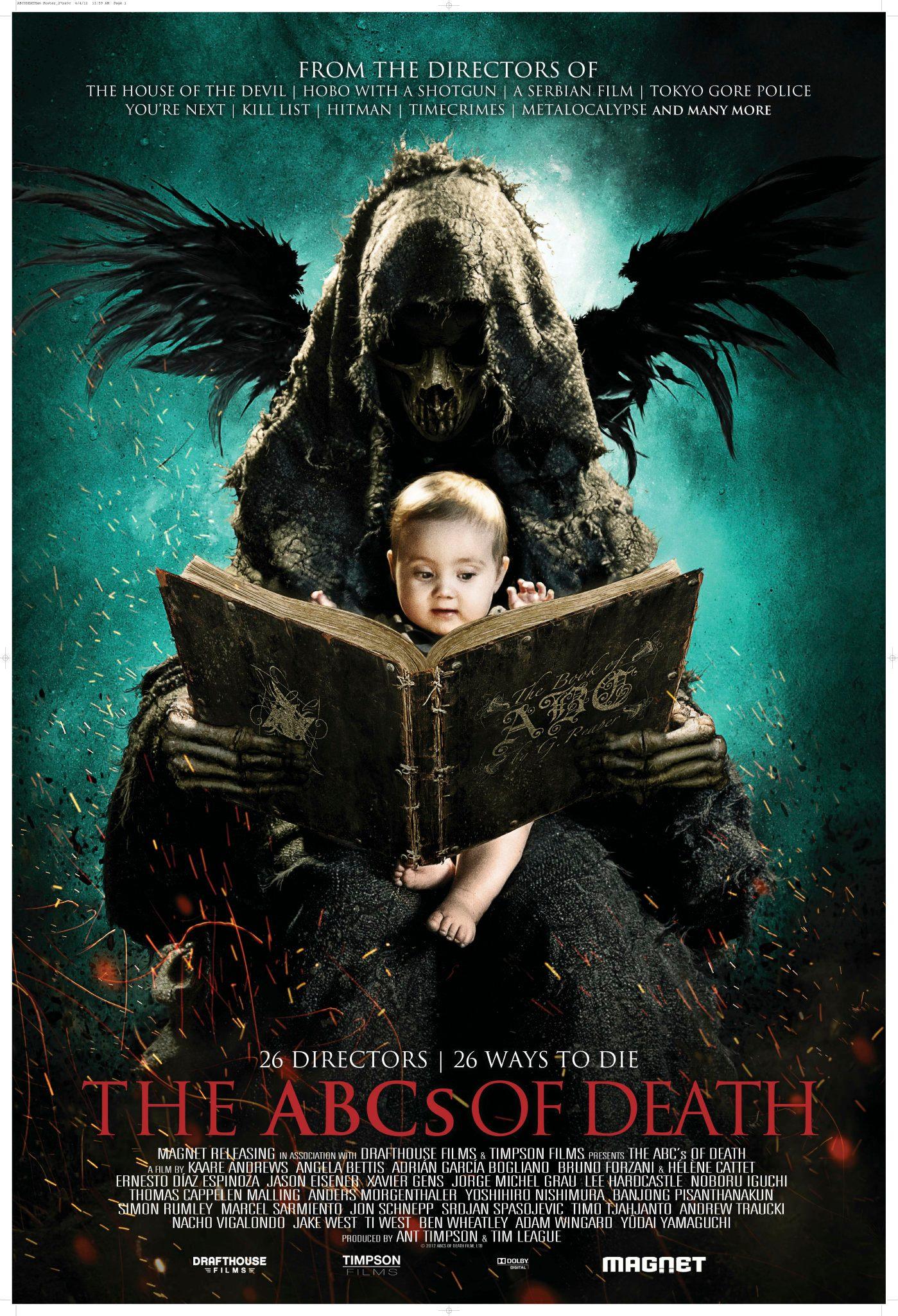 плакат фильма постер Азбука смерти