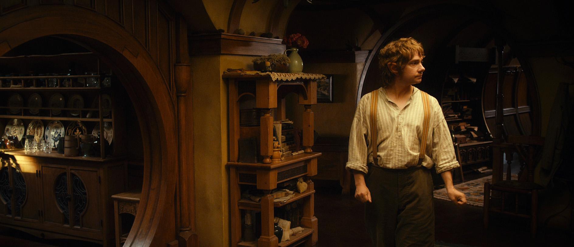 кадры из фильма Хоббит: Нежданное путешествие Мартин Фримен,