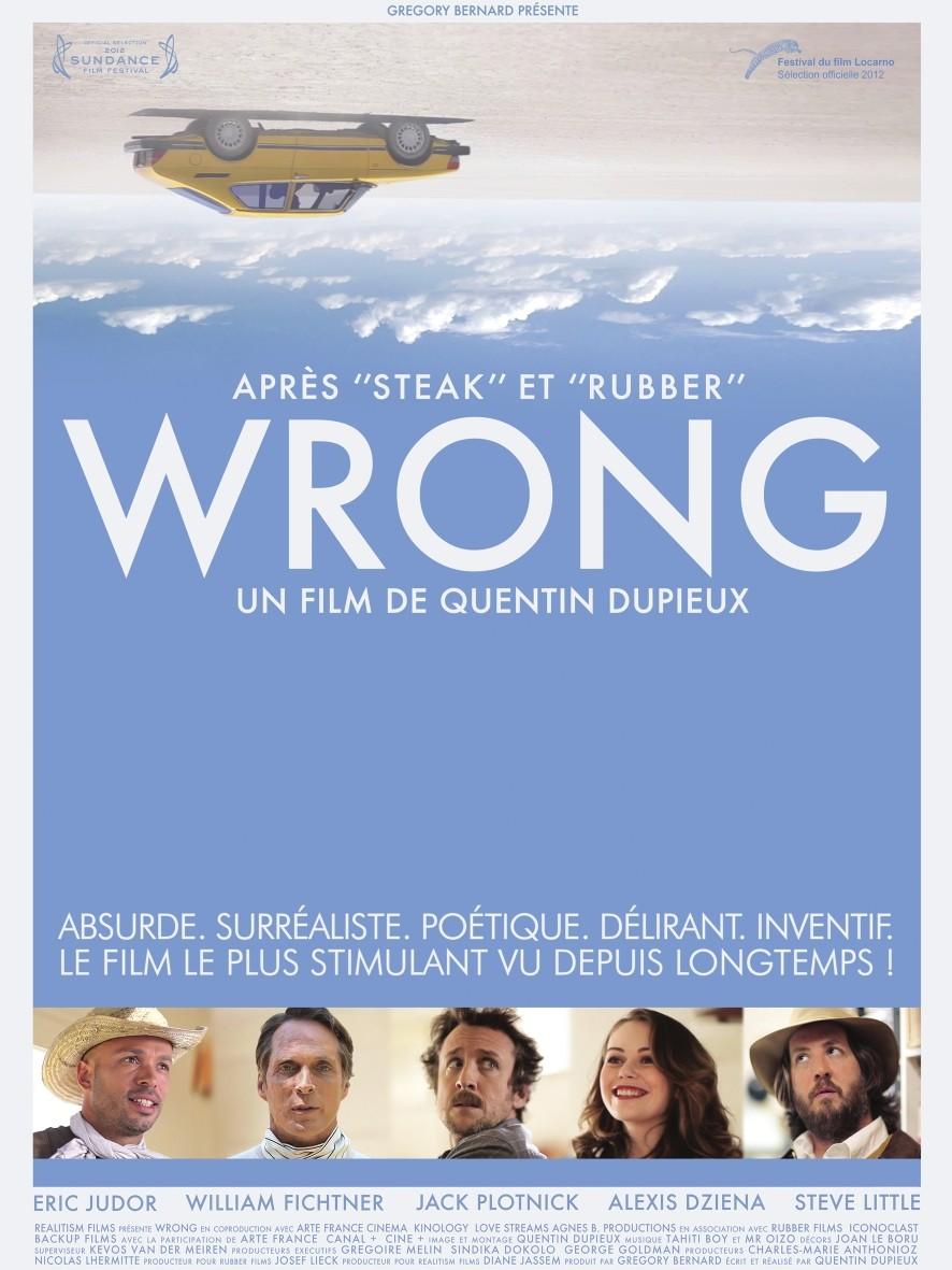 плакат фильма постер Wrong