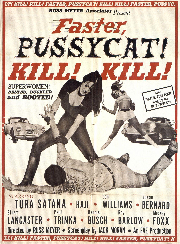 плакат фильма Мочи, мочи их, киска!